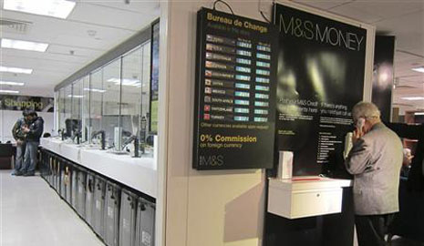 Latest marks and spencer currency exchange rates compare holiday money