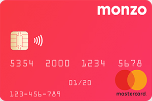 Monzo Prepaid Travel Money Card