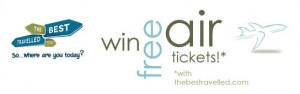 Win Free Airline Tickets - TheBestTravelled.com Competition