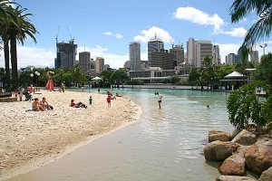 Brisbane Australia Man Made Beach