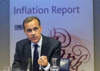 Mark Carney giving his imflation report