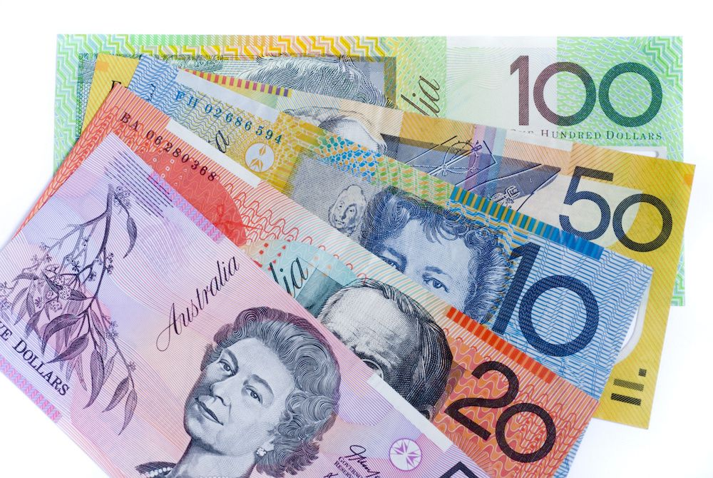 Australian Dollar Currency Bank Notes