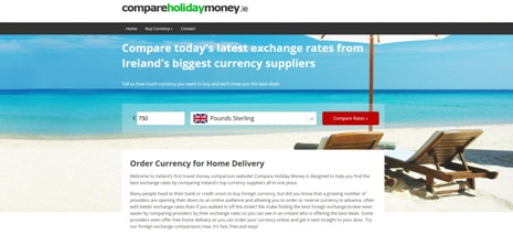 Compare Holiday Money Launches in Ireland