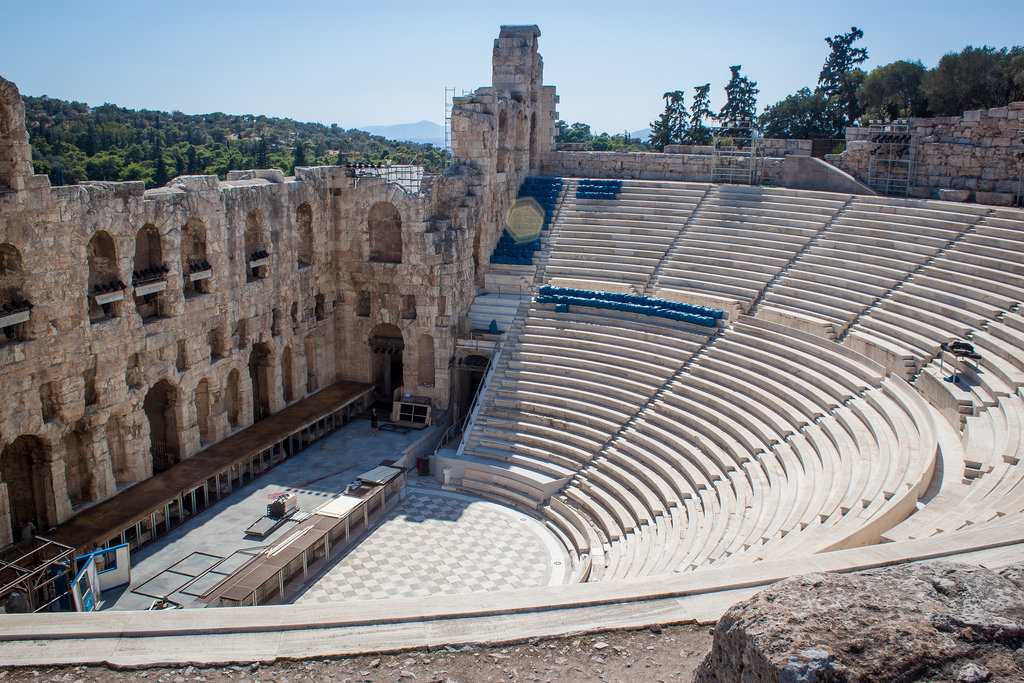 the odeon of herodes