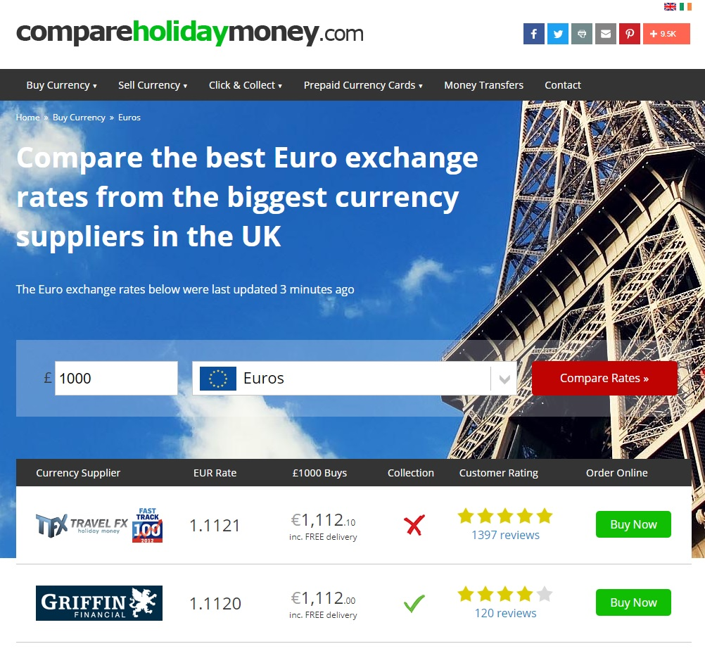 Edinburgh Airport Currency Exchange Rates Sterling Euro Rate Compared Online