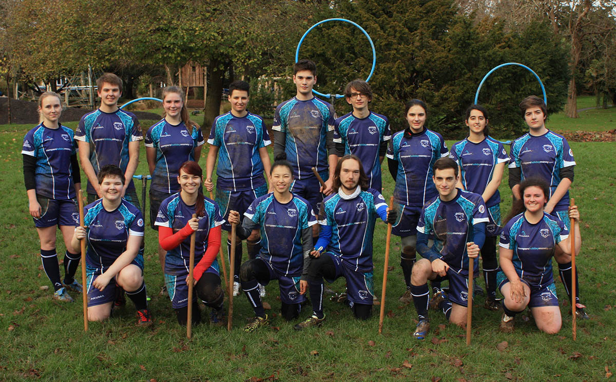 Compare Holiday Money sponsors the Falmouth Falcons quidditch team