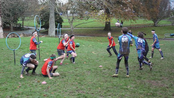 The Falmouth Falcons quidditch team
