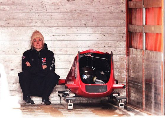 Mica McNeill and bobsleigh