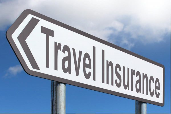 Travel Insurance Sign