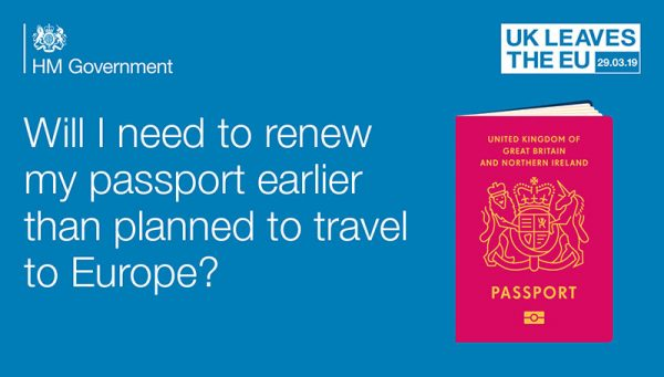 Prepare for EU exit - renew passport-image