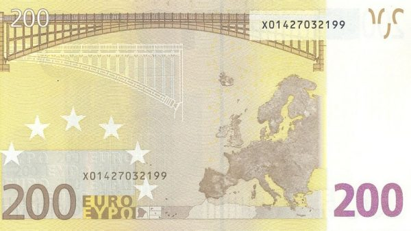Travel money tips while you are away 200 euro banknote image