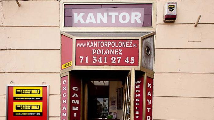 can-euros-be-used-in-Poland-image-of-kantor-exchange