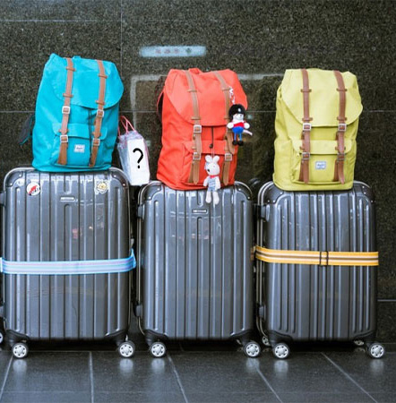 Image of 3 suitcases
